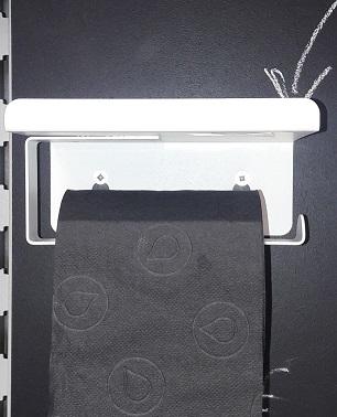 J'ai testé pour vous le dérouleur de papier toilette porte téléphone.