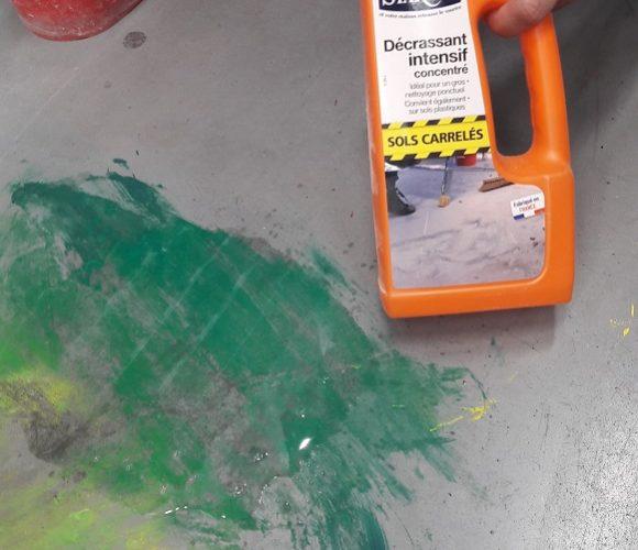J'ai testé pour vous le décrassant intensif sols carrelés de chez Starwax