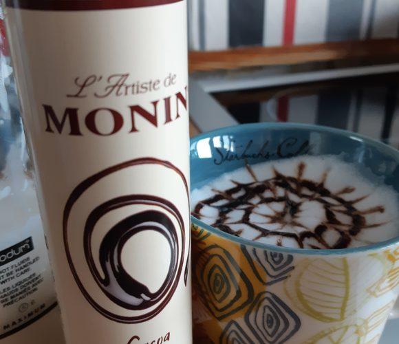 J'ai testé pour vous le stylo de Monin au chocolat