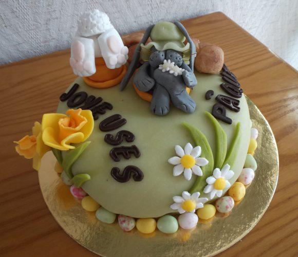 Gâteau de Pâques (un peu en retard!!)