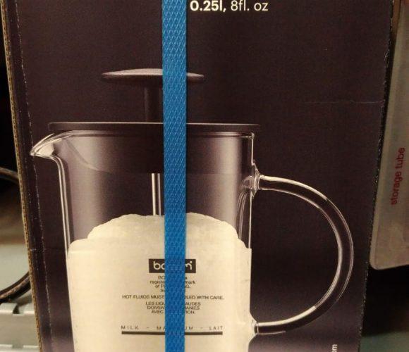 J'ai testé pour vous le mousseur à lait latteo de bodum