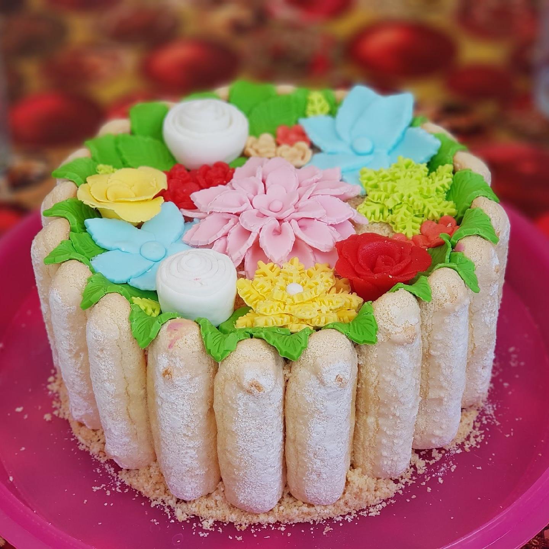 Gâteau de printemps