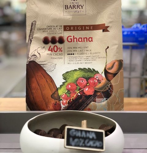 le Chocolat Ghana de chez Cacao Barry