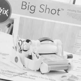 J'ai testé pour vous la Big Shot de la marque Sizzix - Format A5