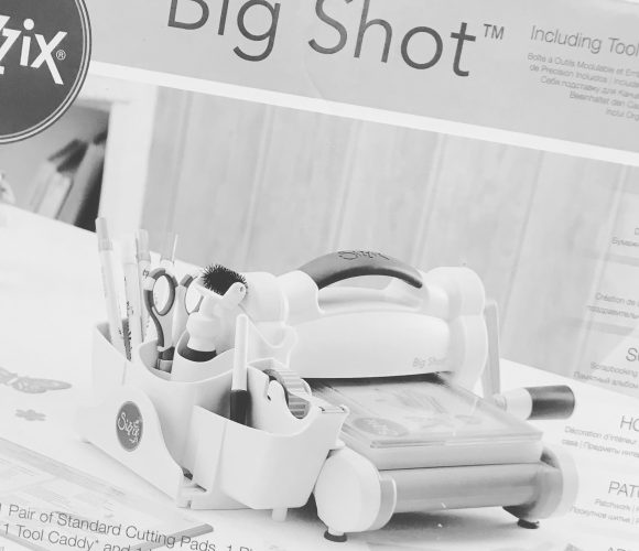 J'ai testé pour vous la Big Shot de la marque Sizzix – Format A5