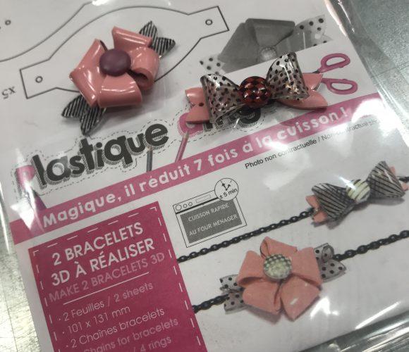 J'ai testé pour vous le Kit de 2 Bracelets rose en Plastique Dingue