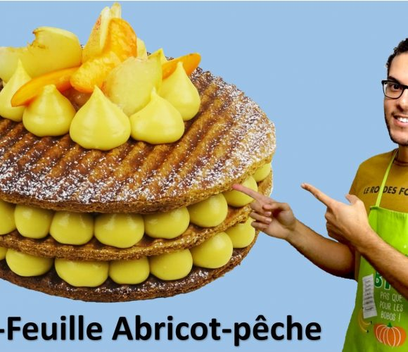 MILLE FEUILLE ABRICOT PECHE