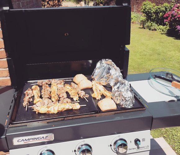 J'ai testé pour vous la feuille teflon pour cuisson barbecue