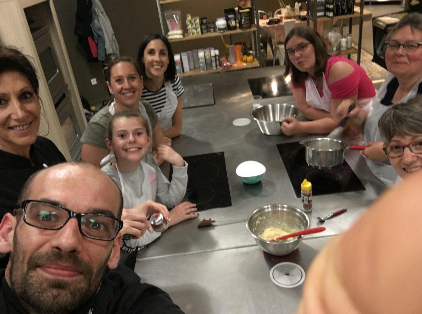 Atelier macarons avec le Chef Greg