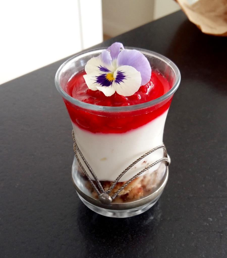 Dessert frais et croquant d'été !