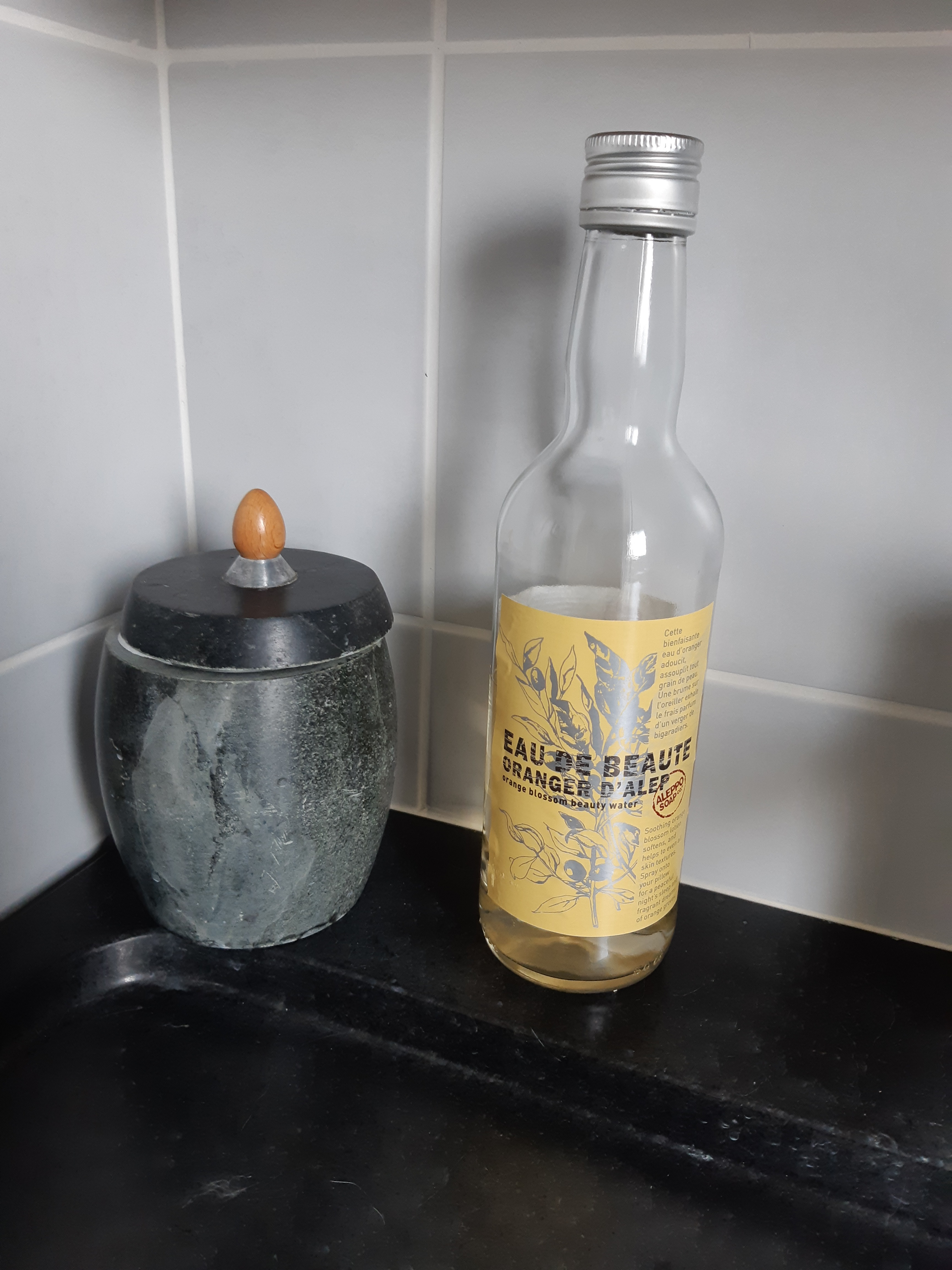 J'ai testé pour vous eau de beauté oranger d'alep