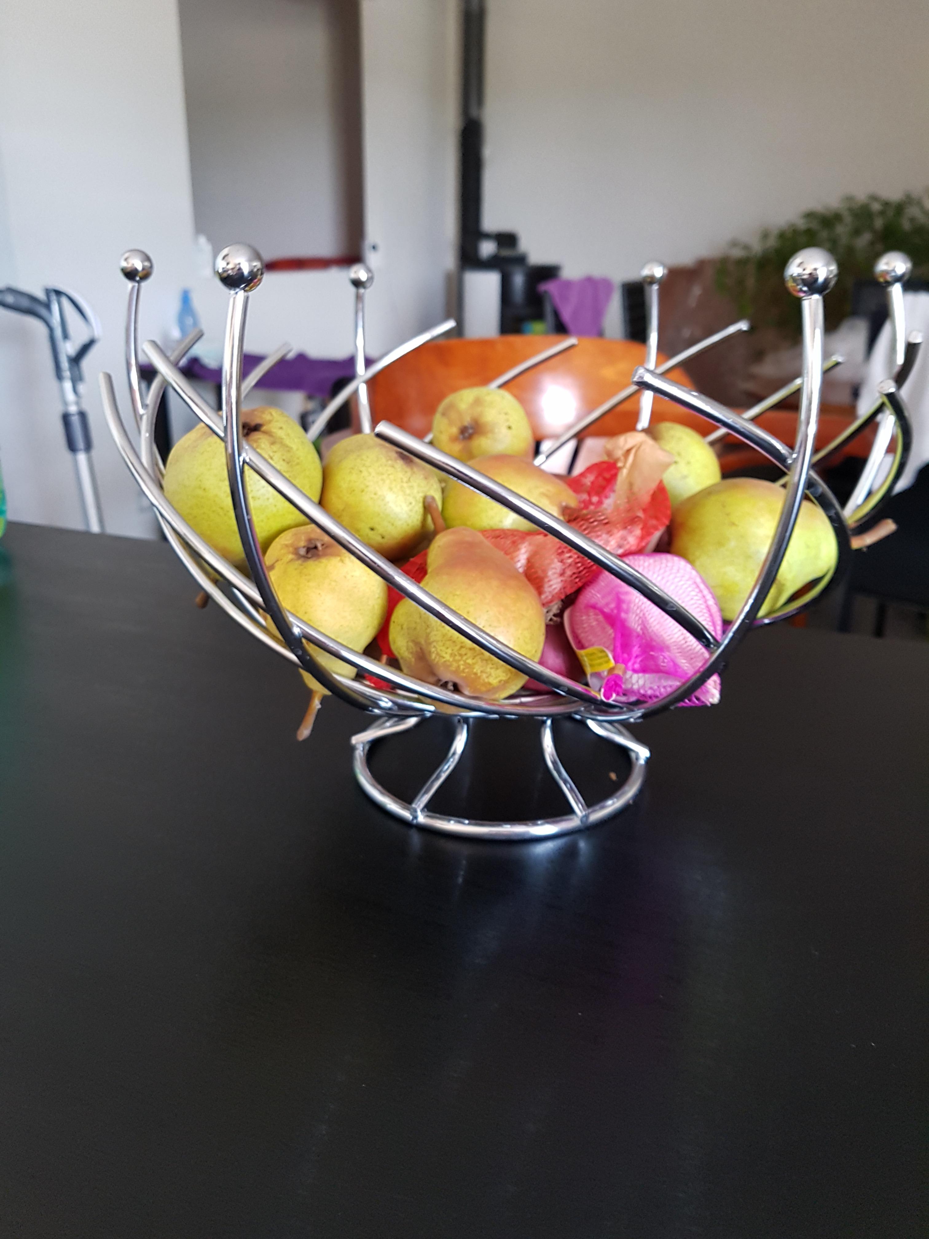 J'ai testé pour vous corbeille à fruits spirale