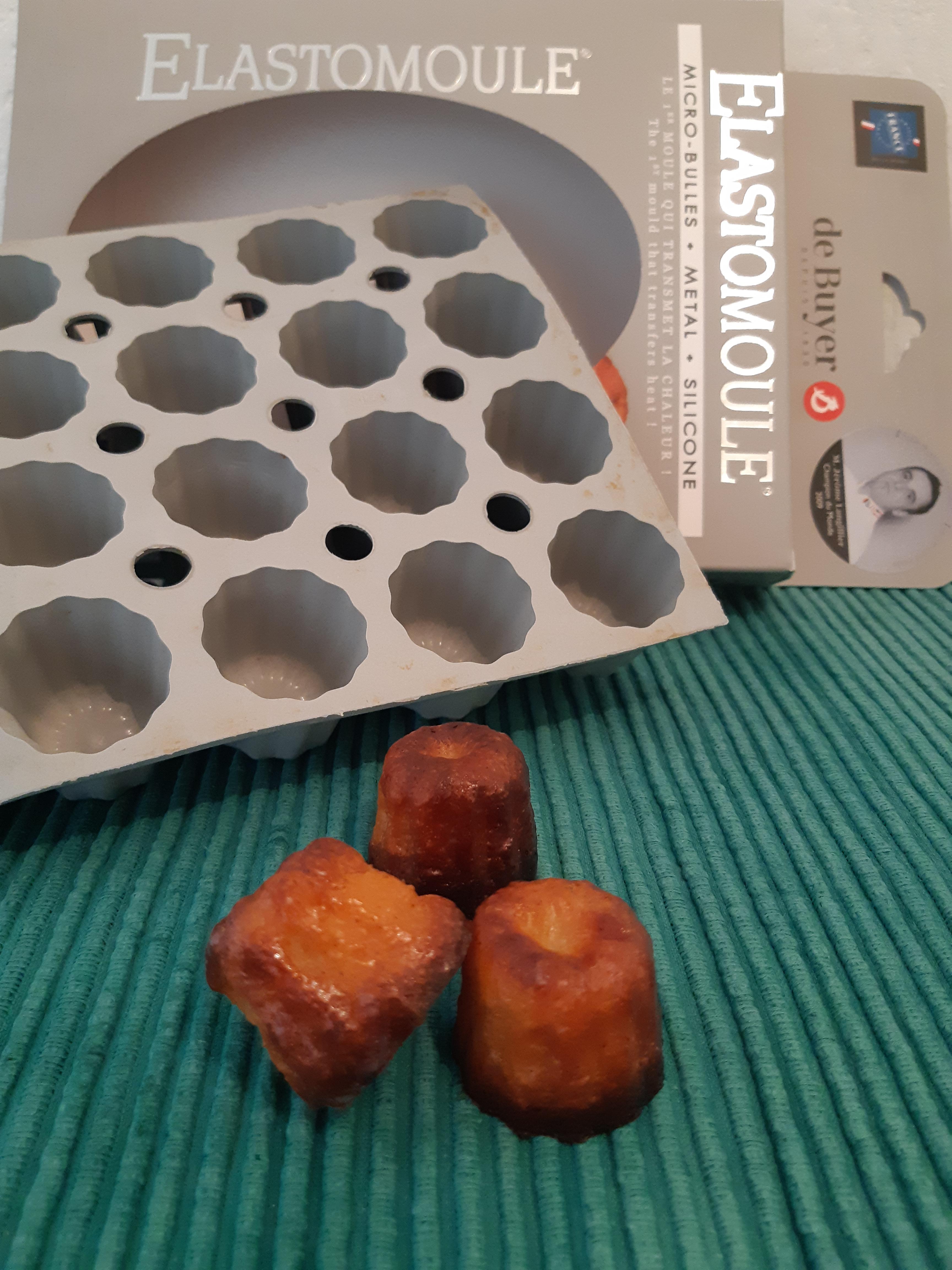 J'ai testé pour vous moule pour 20 mini cannelés bordelais en silicone - DE BUYER