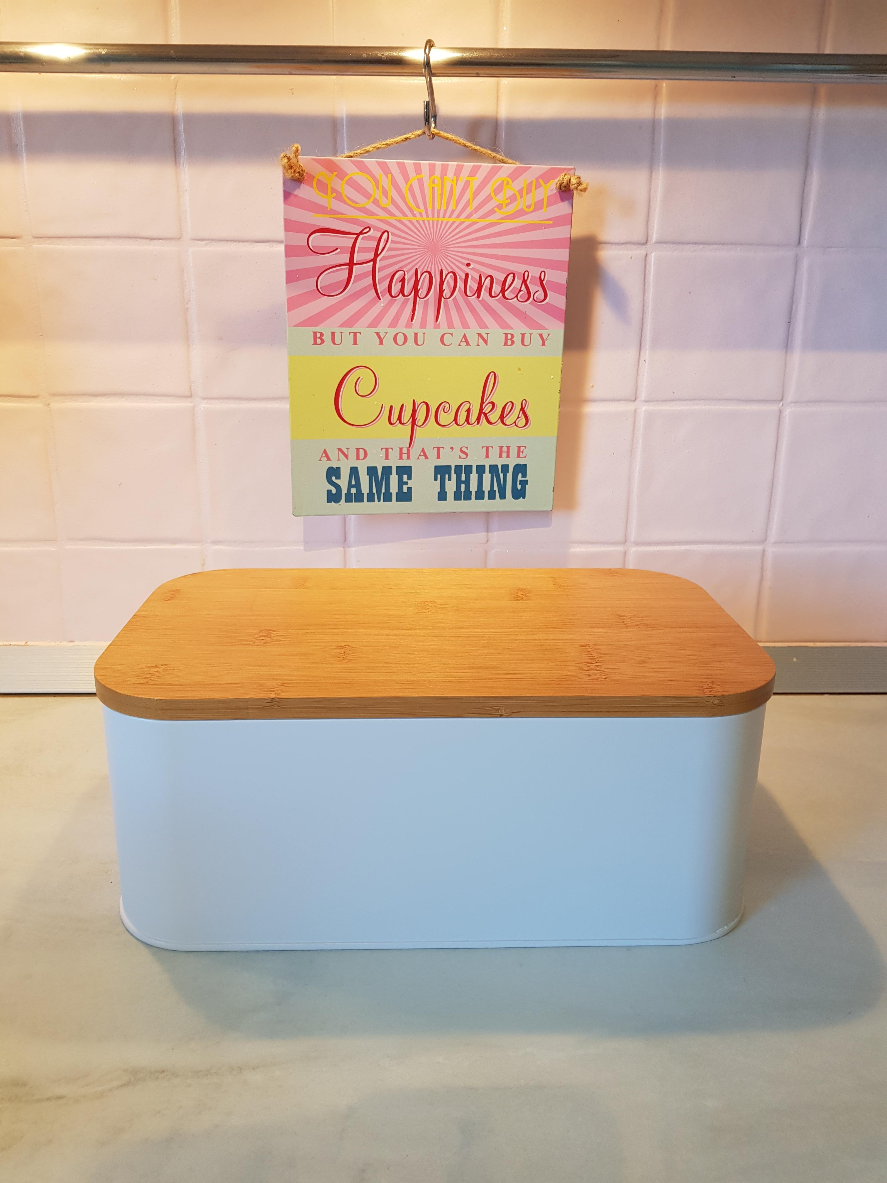 9003543f586381 Petite boîte à pain blanche Pas cher - Zôdio