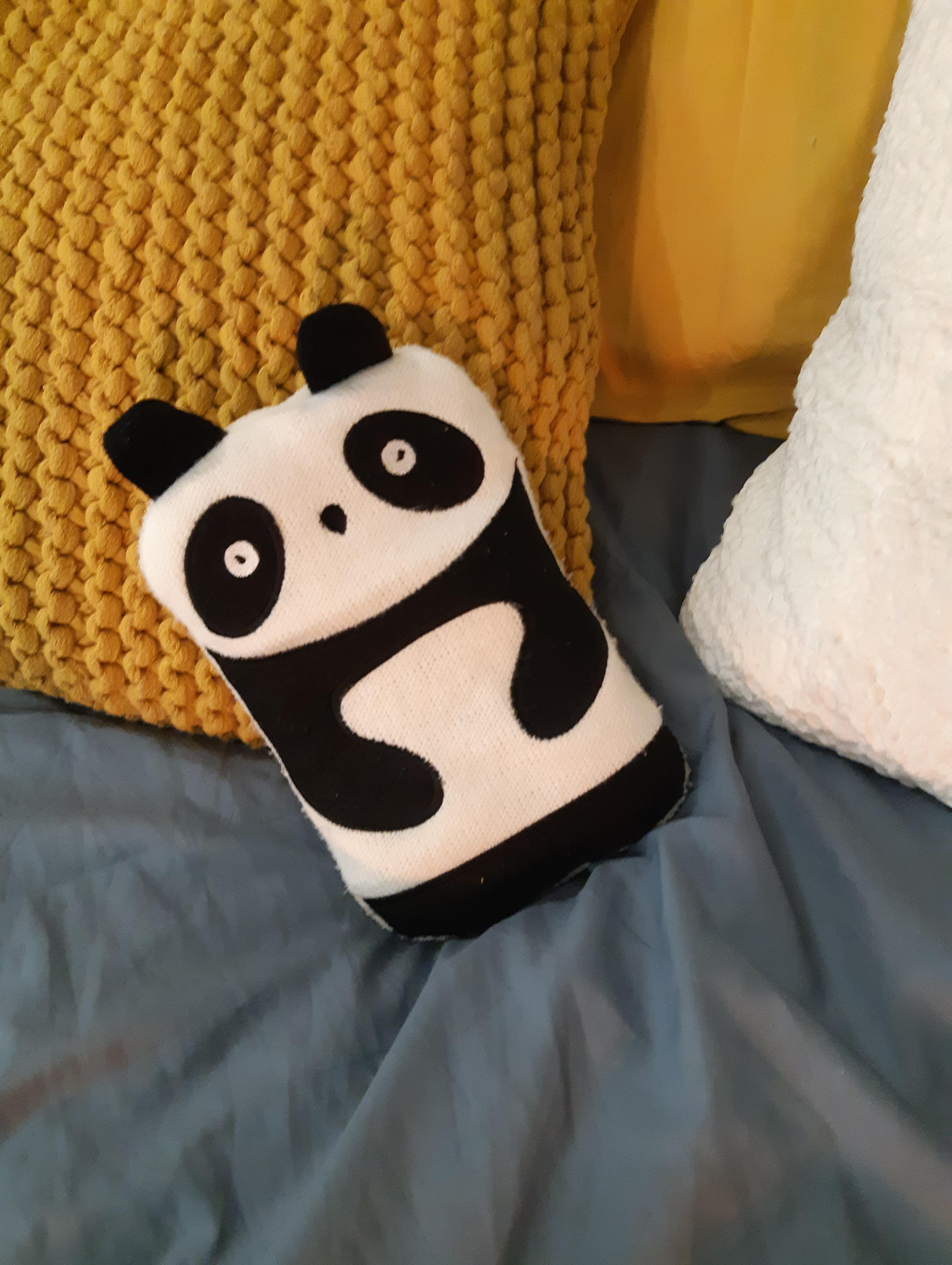 J'ai testé pour vous la bouillotte panda
