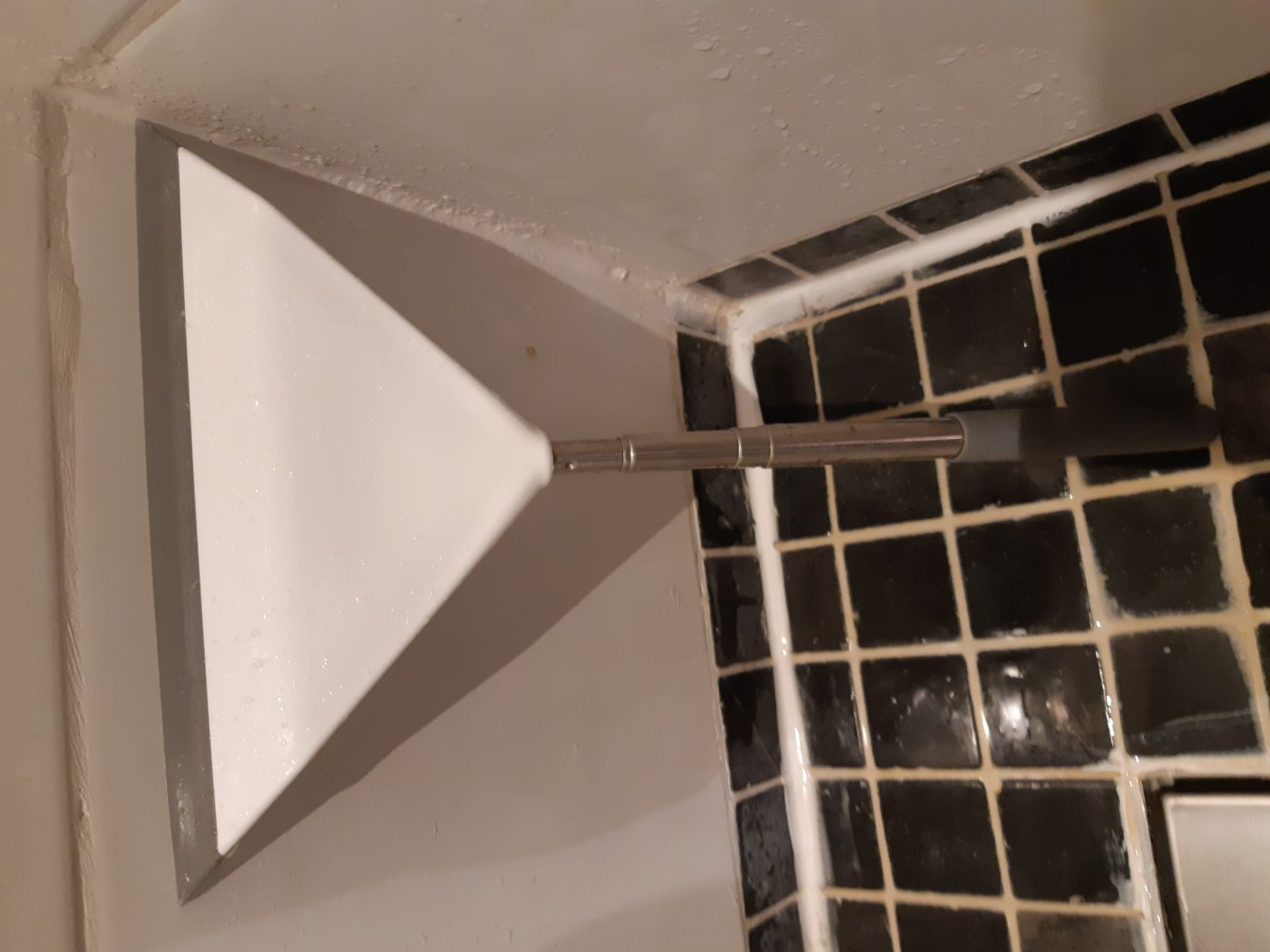 J'ai testé pour vous la raclette de douche télescopique de chez balvi