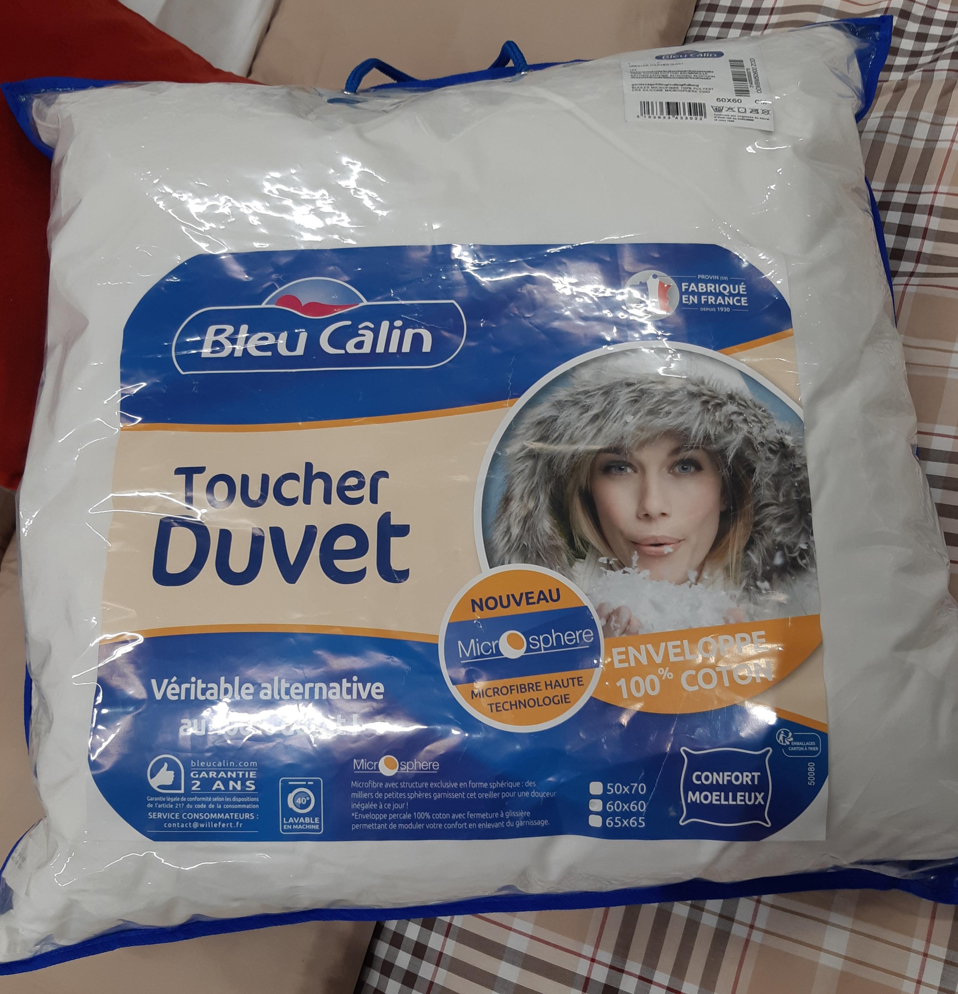 J'ai testé pour vous l'oreiller toucher duvet