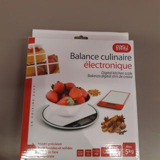 La balance culinaire électronique