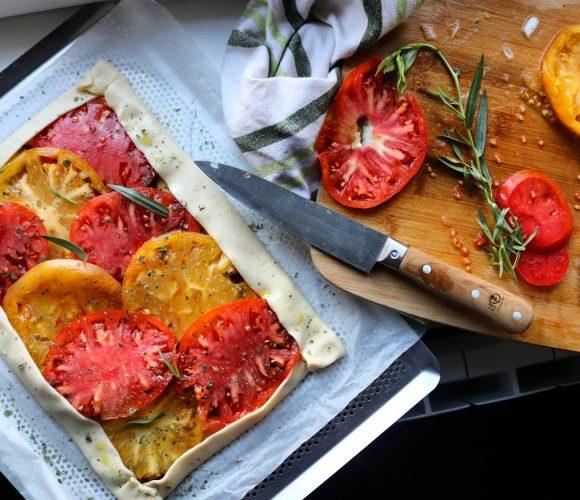 Ma tarte aux tomates !