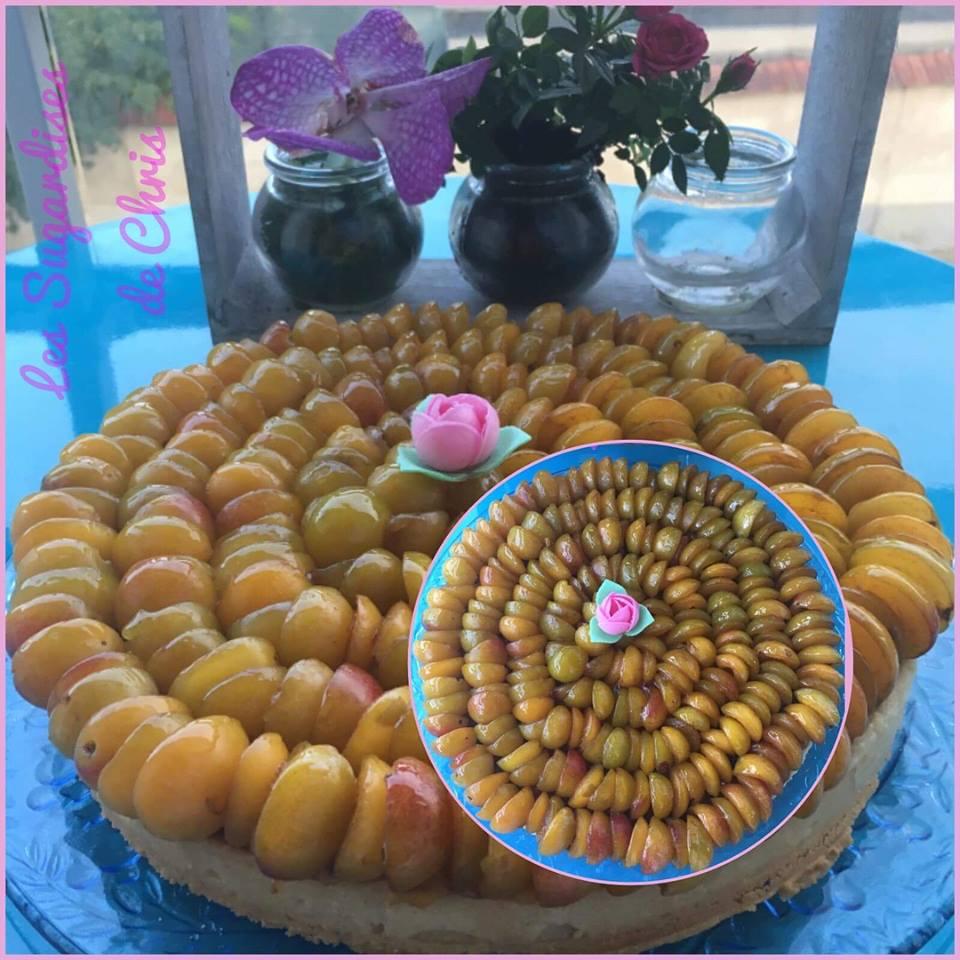 tarte mirabelles de Cédric Grolet