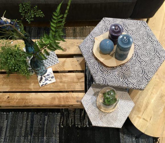 Mes petites tables en tissu