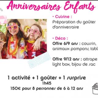 Les anniversaires enfant chez Zôdio Clermont-Ferrand