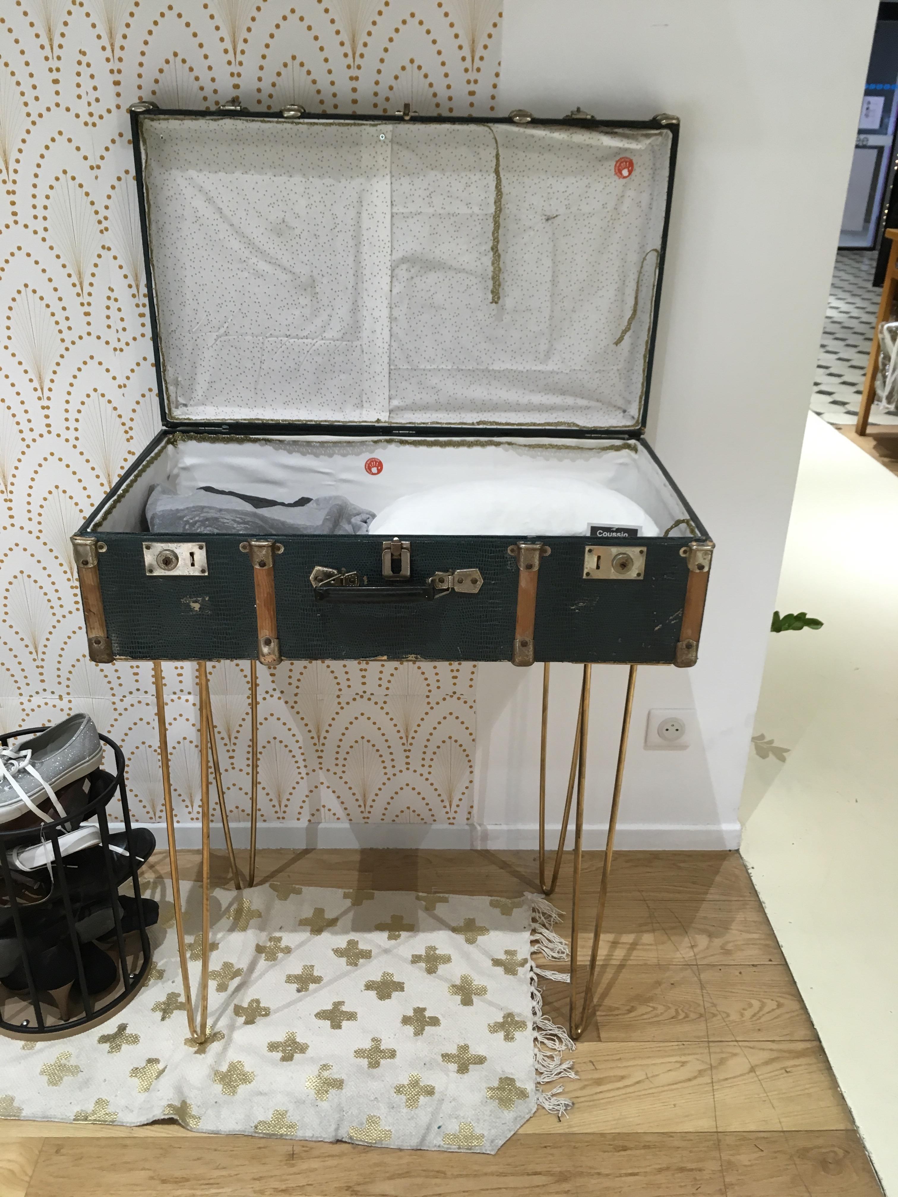 Je détourne…la valise de Mamie!