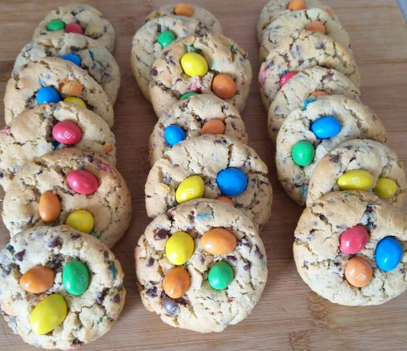 COOKIES AUX M&M'S [TUTO VIDEO]