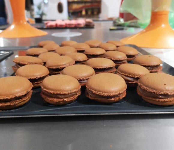 Atelier macarons avec Audrey à zôdio Orléans