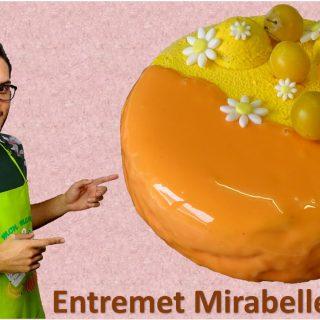 ENTREMET MIRABELLE VANILLE