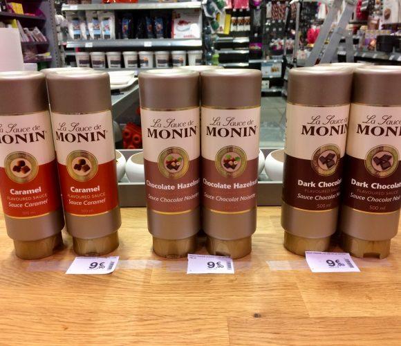 Les Sauces de Monin un délice !