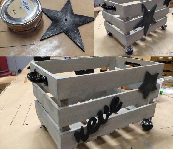 Atelier Cagette en bois