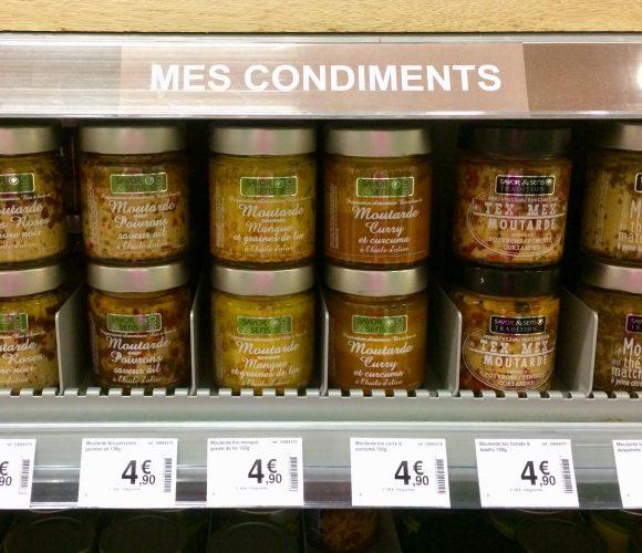 Les Moutardes  Savor & Sens