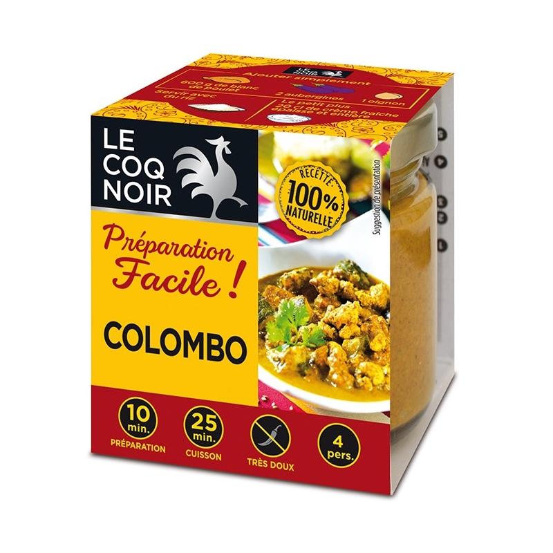 J'ai testé pour vous la préparation facile Colombo - Le Coq Noir