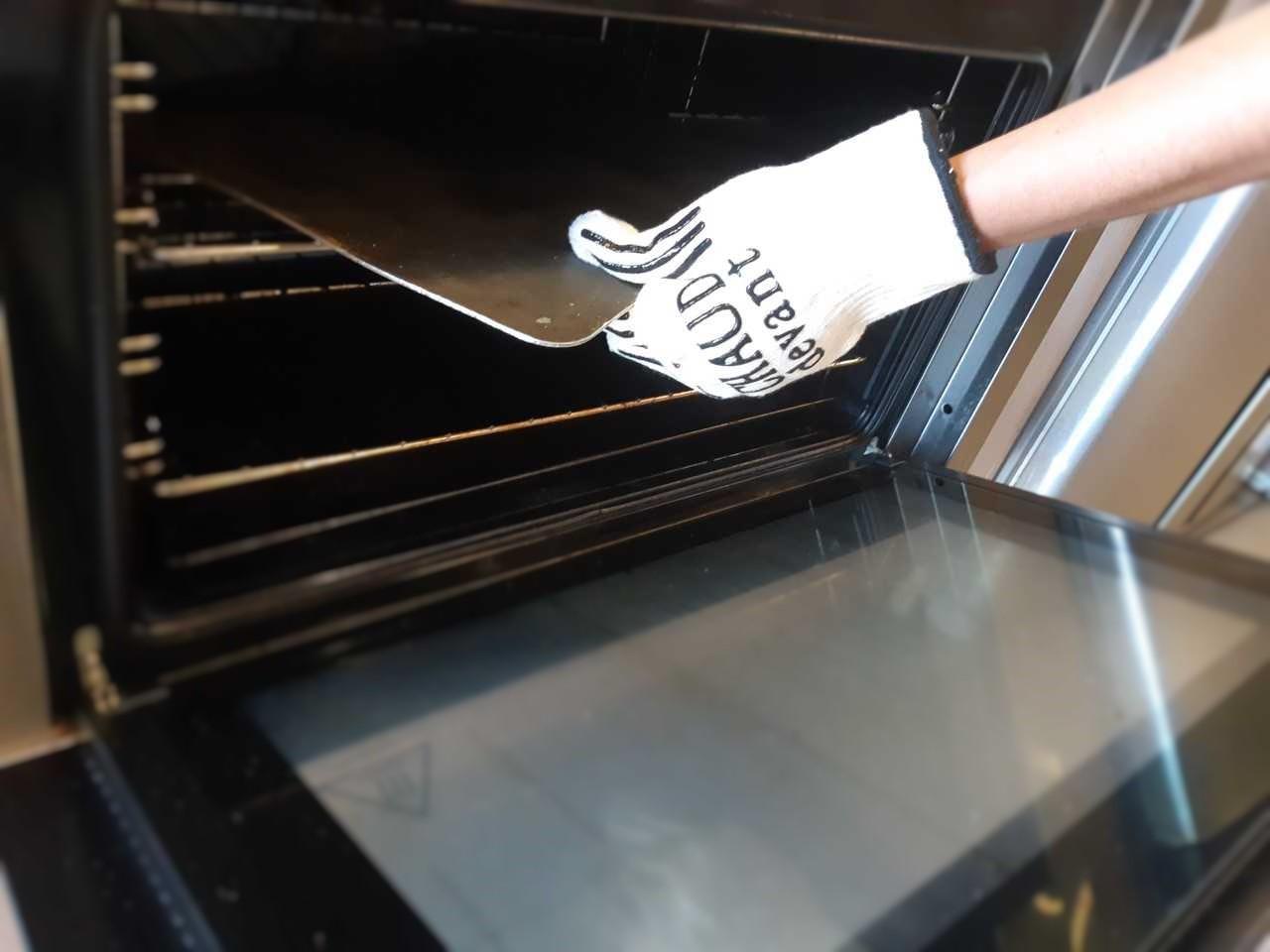 gant de cuisine anti chaleur Gant de cuisine anti-chaleur coton et silicone