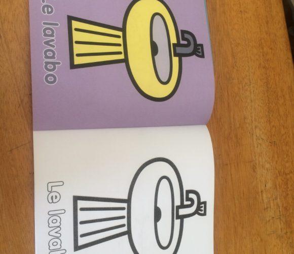 J'ai testé pour vous le cahier de coloriage thème maison