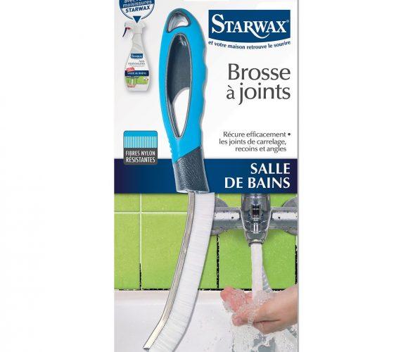 J'ai testé pour vous la brosse a joint Starwax