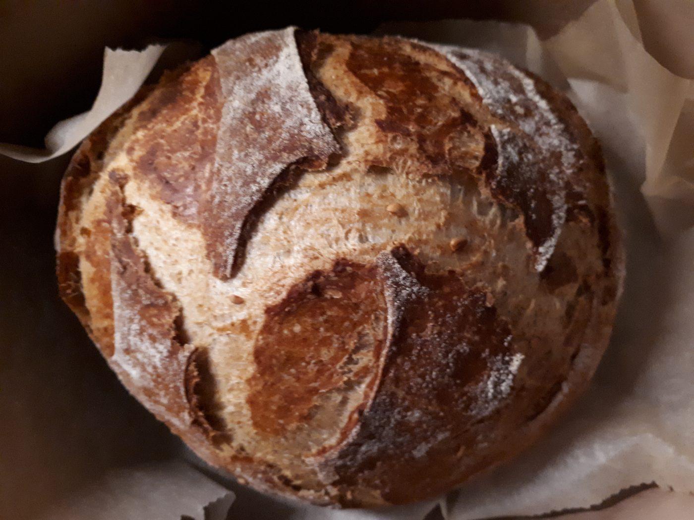 Je fais mon pain cocotte sans petrissage