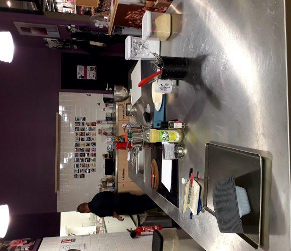 Atelier cuisine avec Jérôme