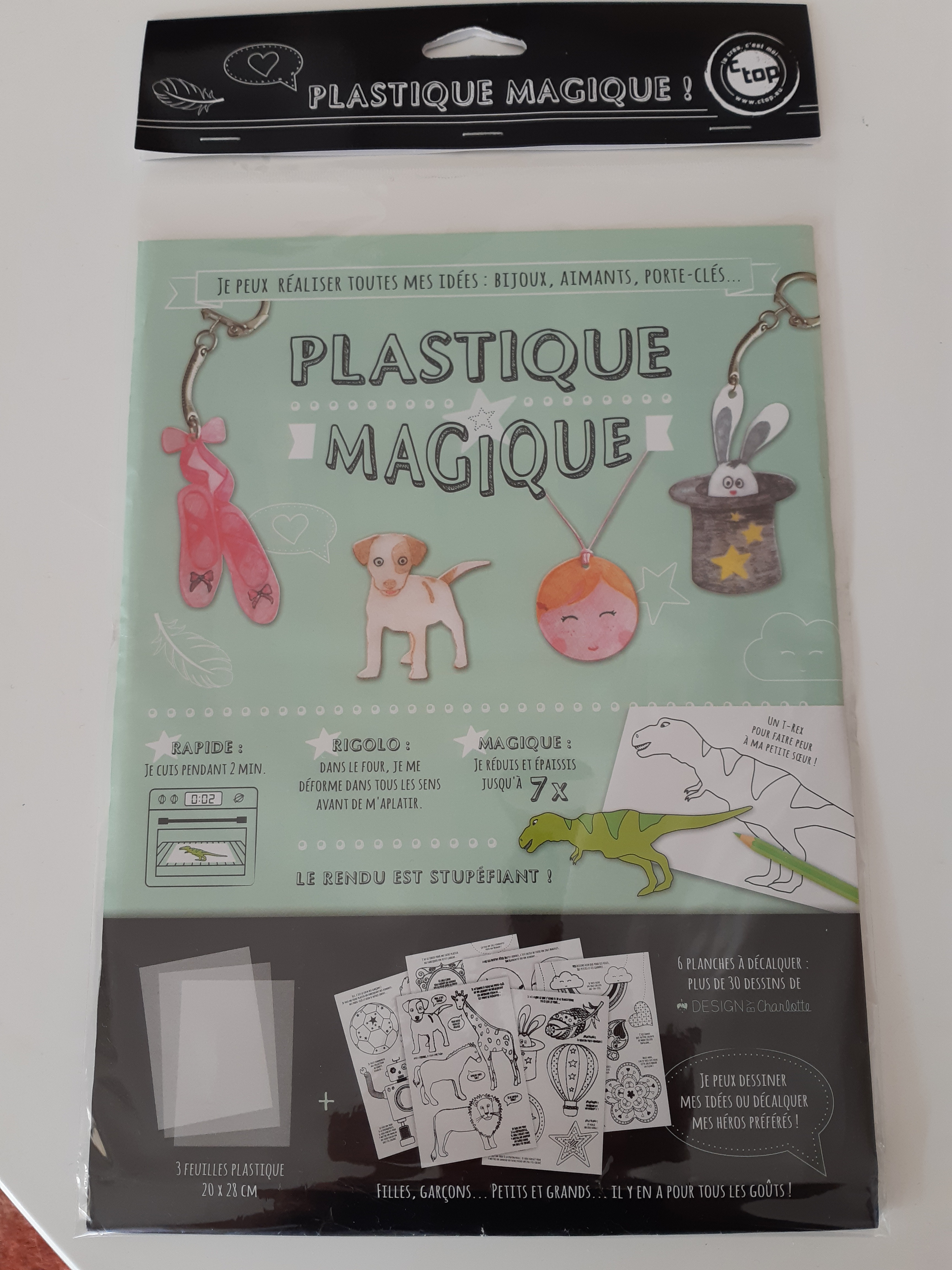 Plastique magique