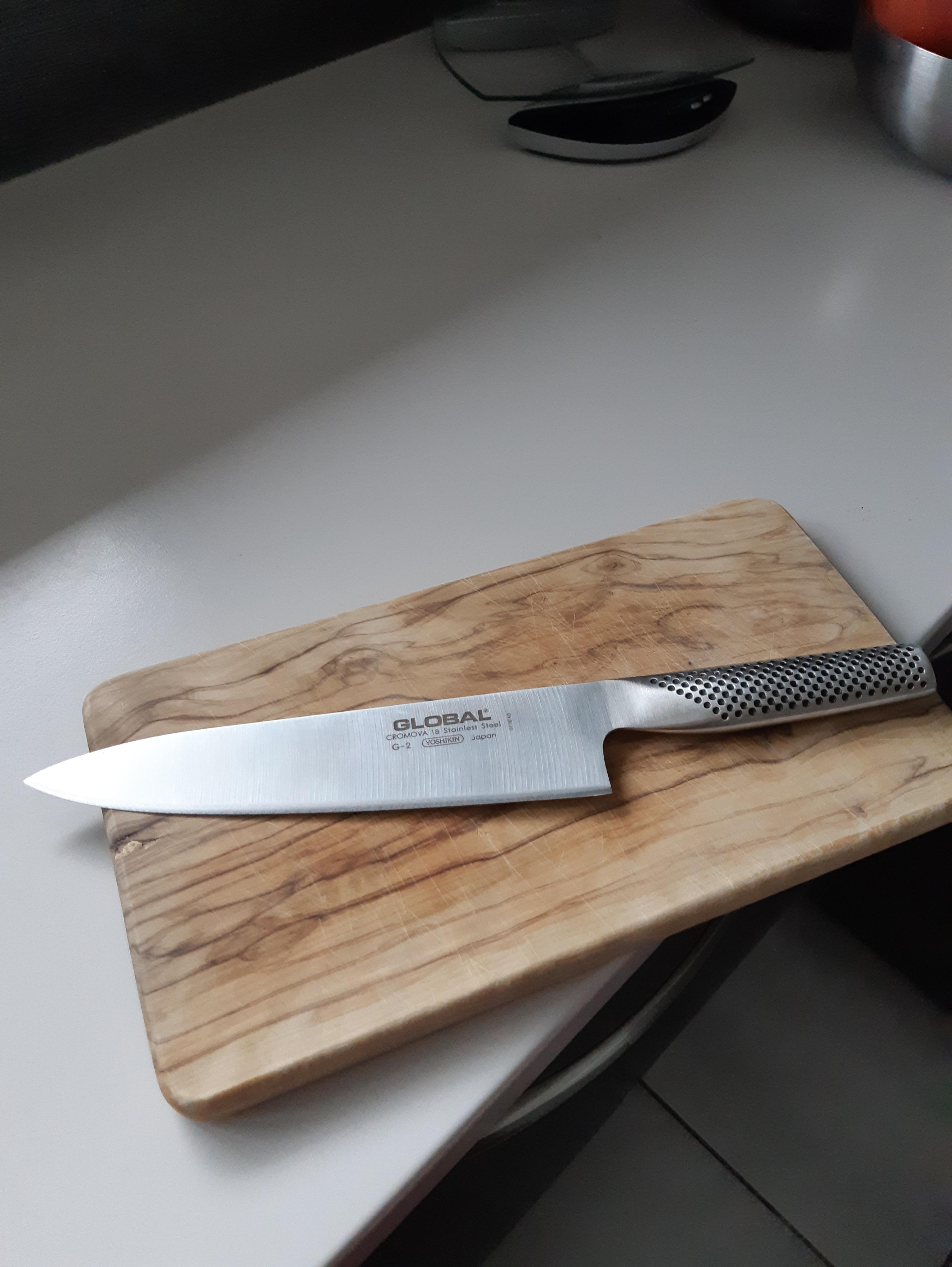 J'ai testé pour vous couteau Chef Global