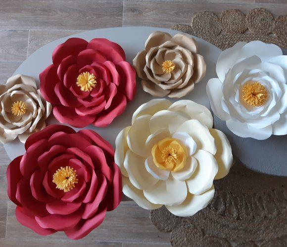 Mes fleurs en papier