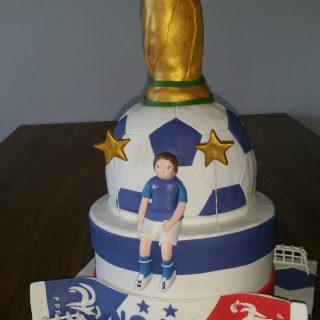 Coupe du monde cake design