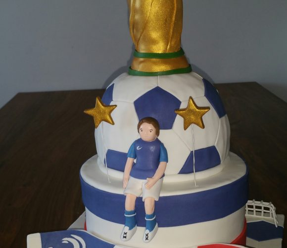 Coupe du monde cake design