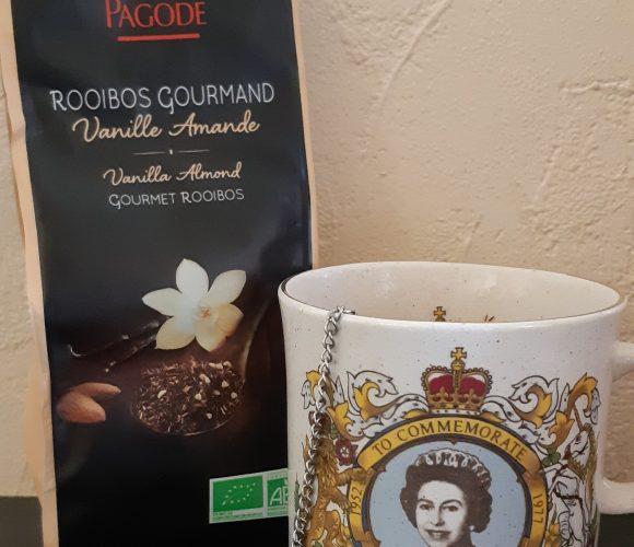 J'ai testé pour vous le rooibos gourmand «vanille – amande» Thés de la Pagode