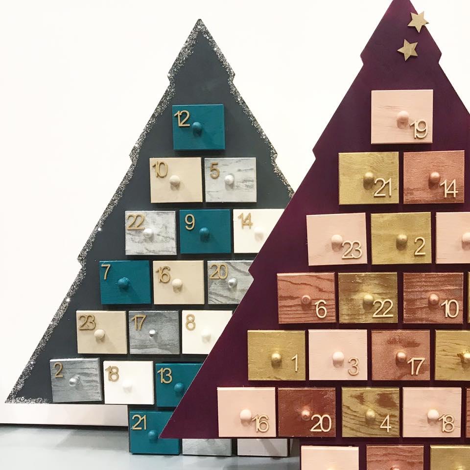 J'ai testé pour vous mon calendrier de l'avent en bois avec 24 tiroirs