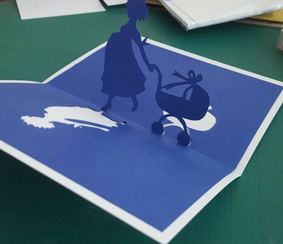 Cartes en kirigami