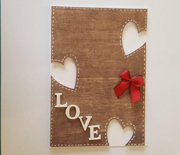 Carte de voeux – mariage – amour