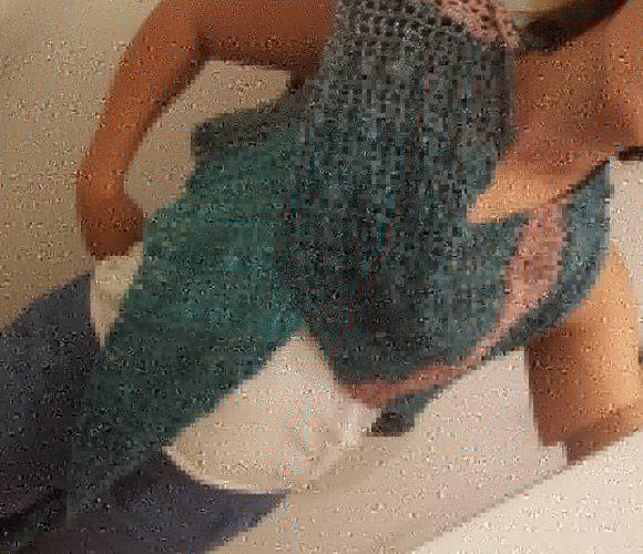 Chale au crochet
