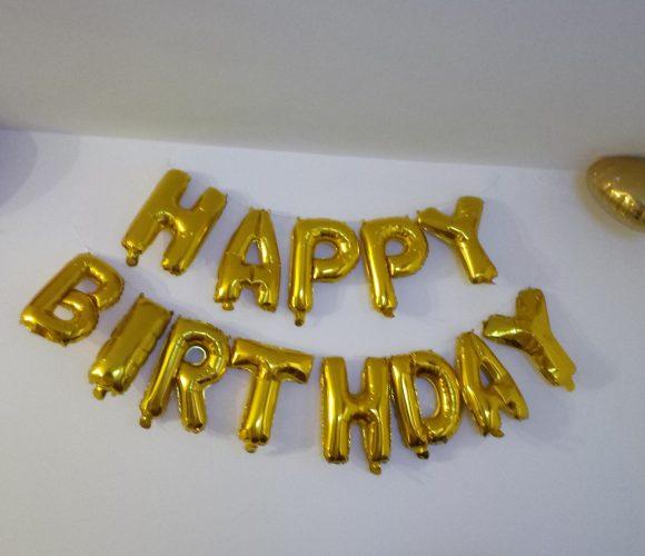 Déco pour anniversaire